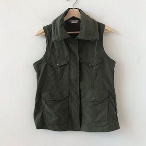 Orvis green utility vest